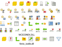 Fenix icons library